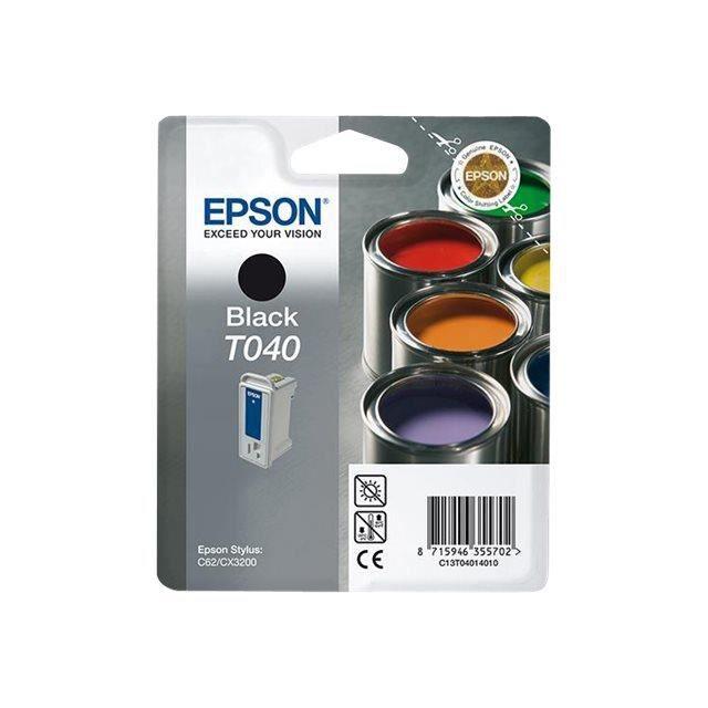 cartouche compatible epson noir c13t04014010 t04 prix pas cher cdiscount. Black Bedroom Furniture Sets. Home Design Ideas