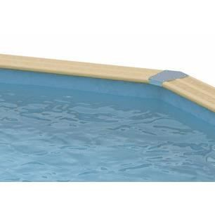 Liner bleu pour piscine allong e ubbink 350 x 1 achat for Liner piscine 350 x 120