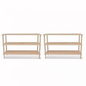 casier rangement bois achat vente casier rangement bois pas cher cdiscount. Black Bedroom Furniture Sets. Home Design Ideas