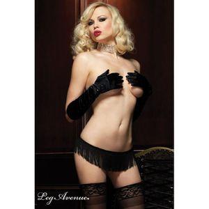 Burlesque String Franges Leg Ave…