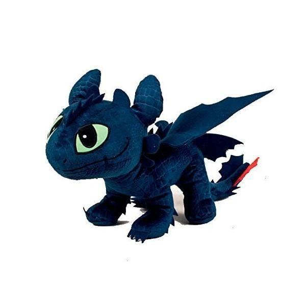 Peluche dragons krokmou furie nocturne 45cm achat - Peluche furie nocturne ...