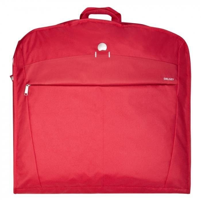 Housse de v tements belleville 120 cm rouge achat for Housse rangement vetement