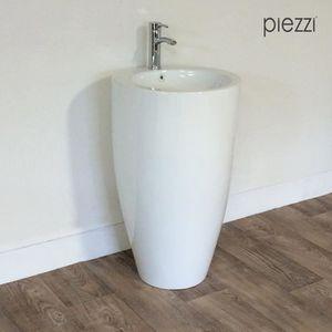 Vasque sur pied achat vente vasque sur pied pas cher cdiscount - Vasque sur pied design ...
