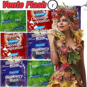 PRÉSERVATIF FLASH ❤ Lot 21 préservatifs ❤ PASANTE FLAVOURS ❤ C