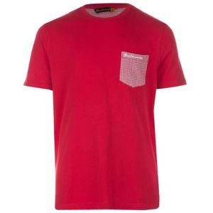 T-SHIRT T-shirt bébé à imprimé pied-de-poule avec poche Be