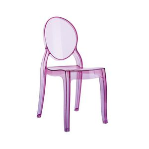 Chaise ELLY JUNIOR Polycarbonate Rose