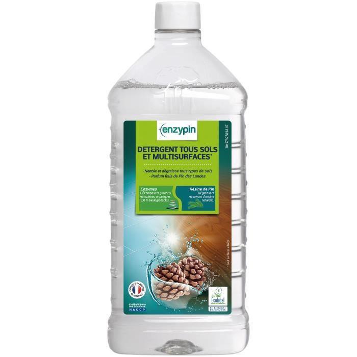 enzypin detergent tous sols et multi surfaces1l achat vente nettoyage sol enzypin detergent. Black Bedroom Furniture Sets. Home Design Ideas