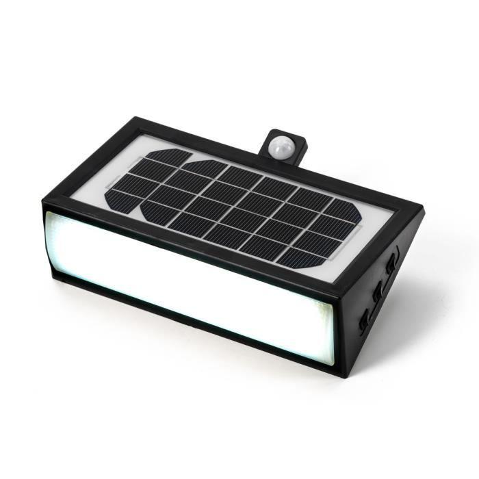 Projecteur solaire lampe jardin led lumi re ext rieure for Allumage automatique lumiere maison