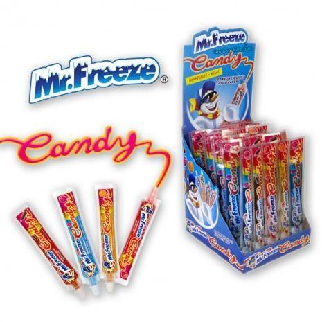 Mr Freeze Candy display de 40 Achat / Vente confiserie de sucre Mr