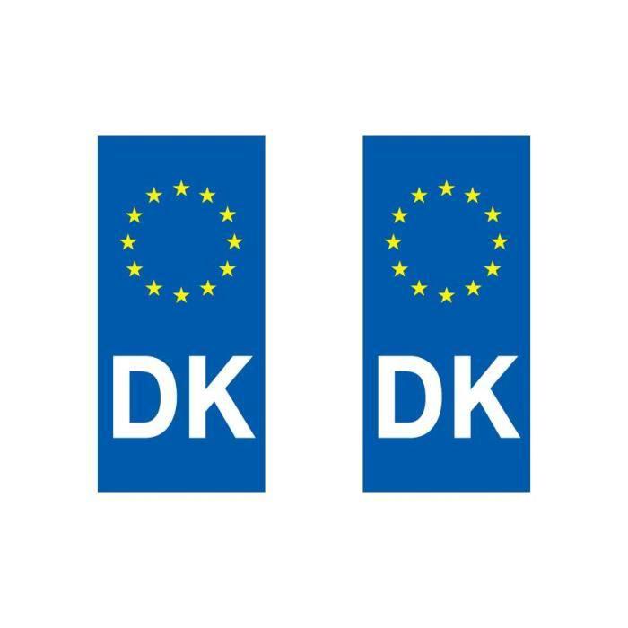 sticker pour plaque auto danemark achat vente d coration v hicule sticker pour plaques. Black Bedroom Furniture Sets. Home Design Ideas