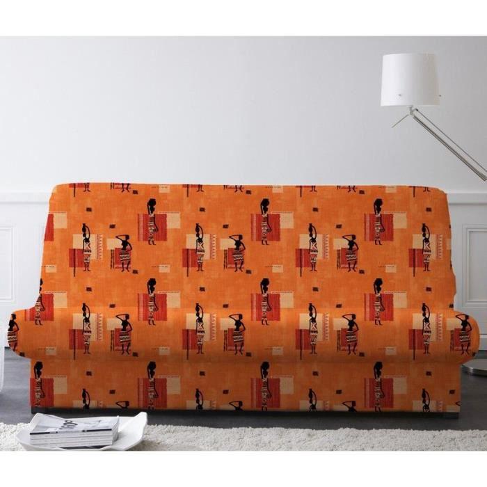 housse clic clac bande de socle afrique mandao achat vente housse de canape soldes. Black Bedroom Furniture Sets. Home Design Ideas