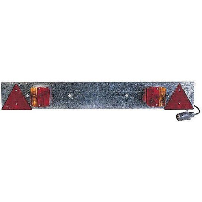 rampe de signalisation m tal pour remorque longueur 1m achat vente rampe pour chargement. Black Bedroom Furniture Sets. Home Design Ideas