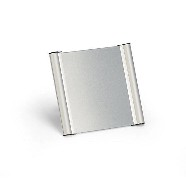 Plaque de porte cadre en profil d 39 aluminium l x h x p for Porte en aluminium