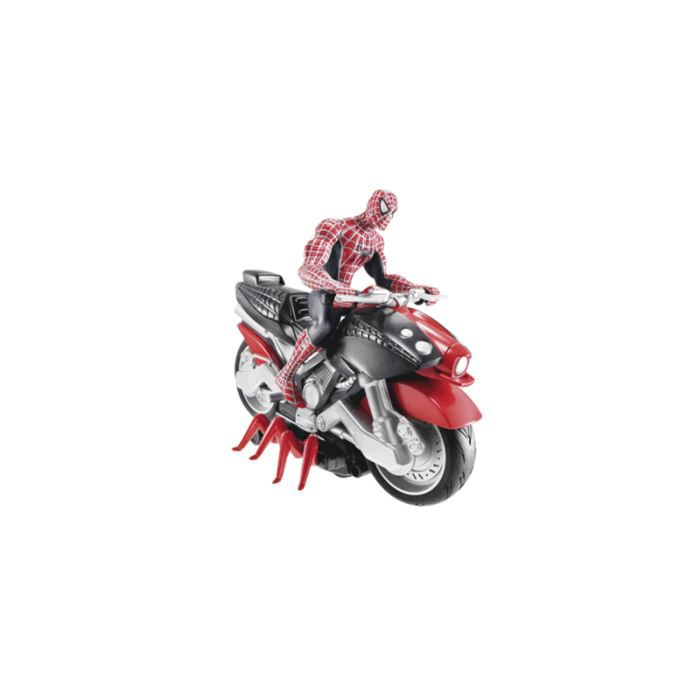 Spiderman moto achat vente figurine personnage cdiscount - Spider man moto ...