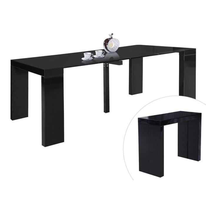 Table repas extensible dina 200 40 x 94 x 75 c achat for Table a repasser largeur 52 cm
