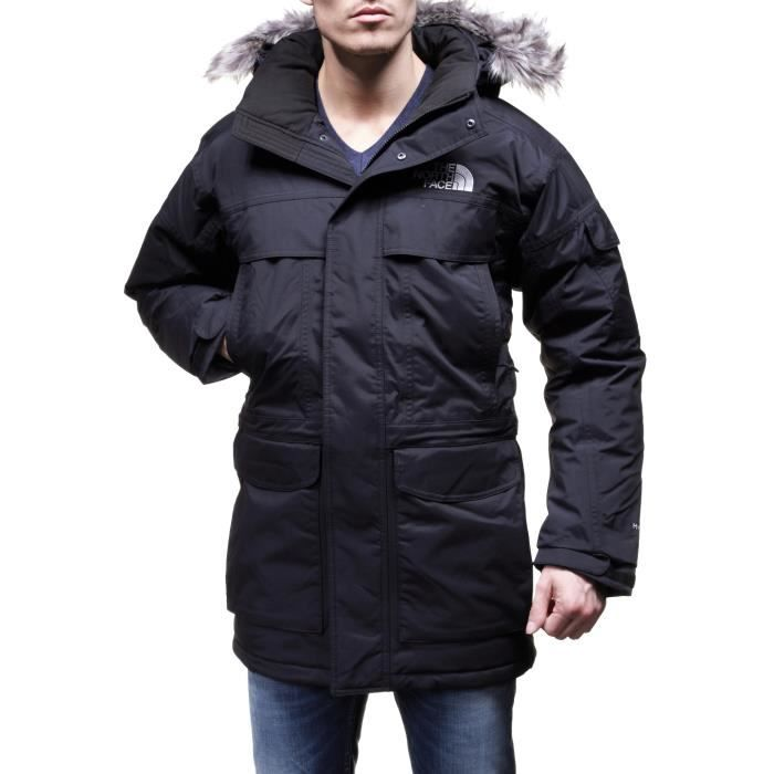 blouson the north face mcmurdo p noir achat vente. Black Bedroom Furniture Sets. Home Design Ideas
