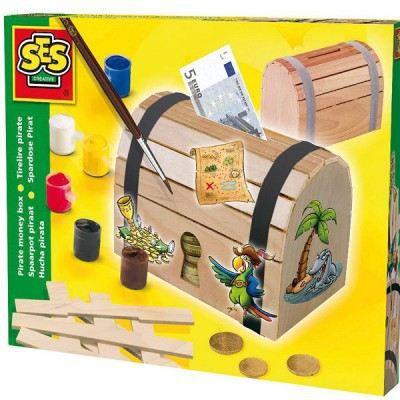 Tirelire coffre pirate achat vente support d corer - Fabriquer un coffre a jouet ...