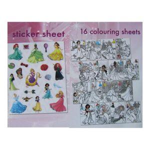 Coloriage princesse disney achat vente coloriage - Livre de coloriage disney ...