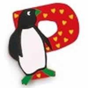 lettre de d coration en bois des animaux p nick achat vente stickers cdiscount. Black Bedroom Furniture Sets. Home Design Ideas