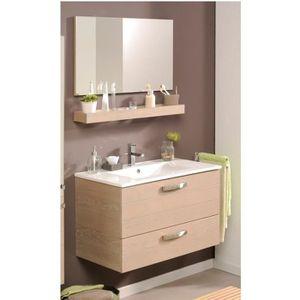 meuble sous lavabo laque achat vente meuble sous lavabo laque pas cher cdiscount. Black Bedroom Furniture Sets. Home Design Ideas