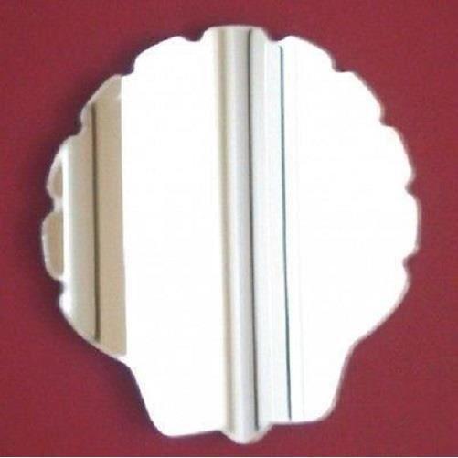 Miroir en forme de coquille 20cm x 19cm achat vente for Miroir forme maison