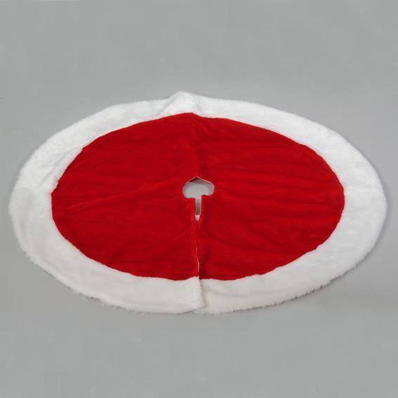 tapis de neige rond rouge d90 cm achat vente boule de no l cdiscount. Black Bedroom Furniture Sets. Home Design Ideas
