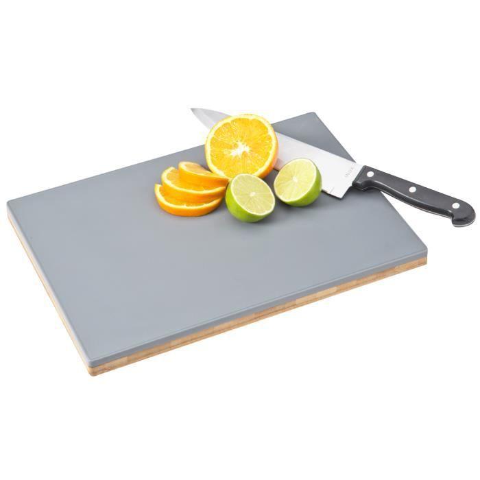 planche d couper double face bambou plastique achat vente planche a d couper planche. Black Bedroom Furniture Sets. Home Design Ideas