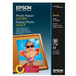 EPSON Papier Photo brillant - A3 - 20 feuilles