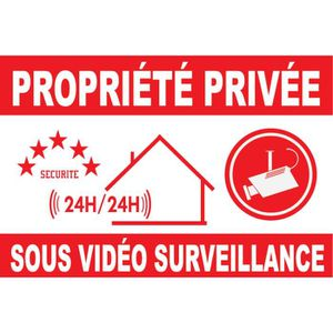 panneau video surveillance achat vente panneau video surveillance pas cher les soldes sur. Black Bedroom Furniture Sets. Home Design Ideas