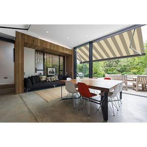 store banne exterieur achat vente store banne exterieur pas cher cdiscount. Black Bedroom Furniture Sets. Home Design Ideas