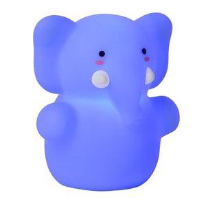 LAMPE A POSER Lampe de chevet Lucide Color Zoo éléphant