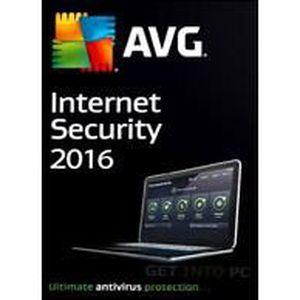 LOGICIEL À TÉLÉCHARGER AVG Internet Security 2016 - 3 Postes - 1 an
