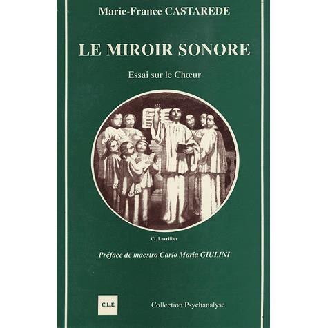 le miroir sonore achat vente livre marie france