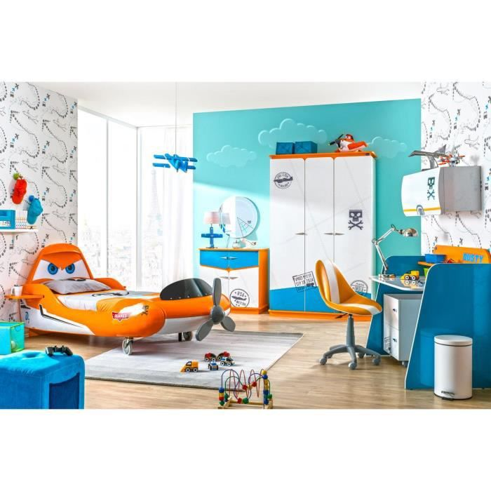 Chambre coucher planes disney compl te achat vente for Achat chambre a coucher complete