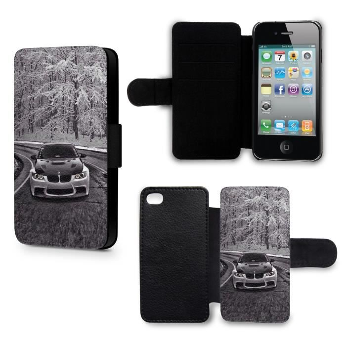 etui housse iphone 6 neige bmw voiture achat housse. Black Bedroom Furniture Sets. Home Design Ideas