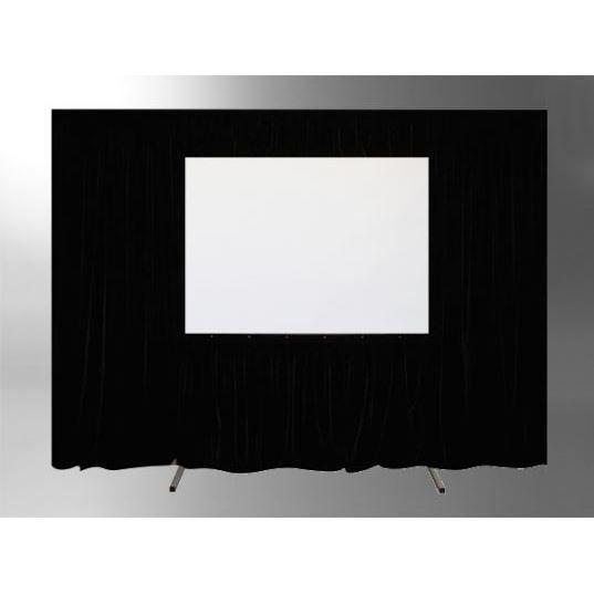 kit de rideau 4 pi ces pour les crans celexon ecran. Black Bedroom Furniture Sets. Home Design Ideas