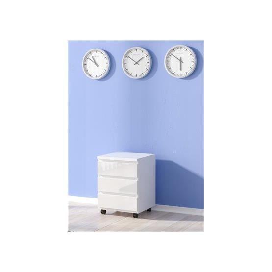 caisson 3 tiroirs laqu icarus blanc achat vente caisson de bureau caisson 3 tiroirs laqu. Black Bedroom Furniture Sets. Home Design Ideas