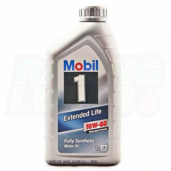 mobil 1 extended life 10w60 conditionnement achat. Black Bedroom Furniture Sets. Home Design Ideas