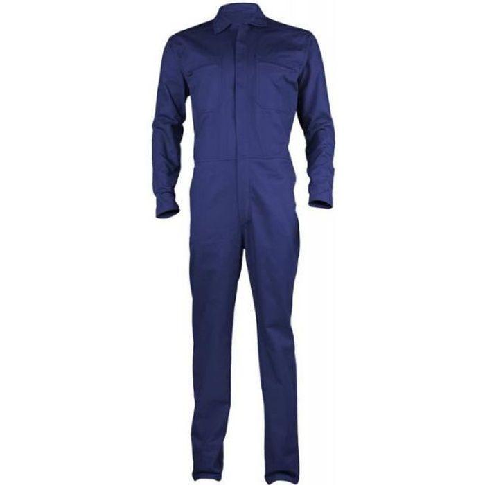 combinaison de travail homme partner bleu royal bleu royal achat vente combinaison pro