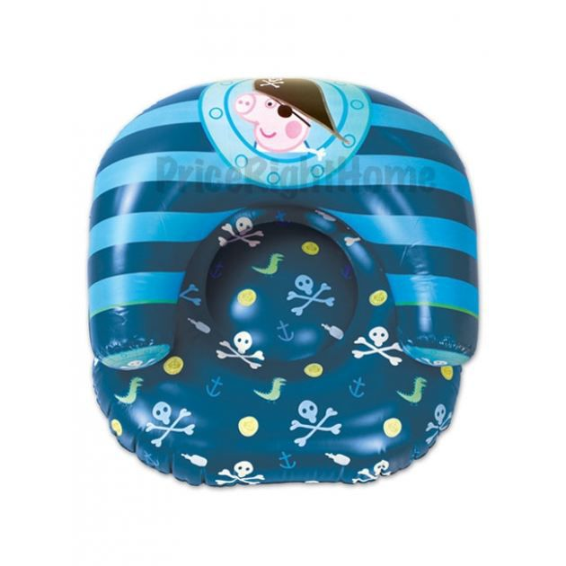 Fauteuil gonflable peppa pig pirate george achat - Fauteuil peppa pig jouet club ...