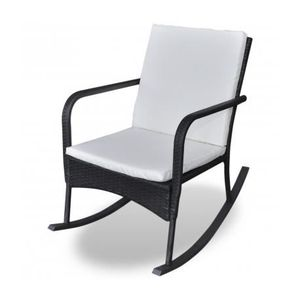 rocking chair jardin achat vente rocking chair jardin pas cher cdiscount. Black Bedroom Furniture Sets. Home Design Ideas