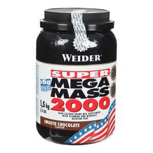 WEIDER MEGA MASS 2000 Chocolat 1,5 kg