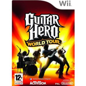 JEUX WII GUITAR HERO WORLD TOUR JEU SEUL / JEU NINTENDO Wii