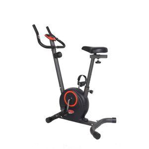 DAVID DOUILLET Vélo d'Appartement Magnétique- 5 kg d'inertie- 5 fonctions - 8 niveaux de resistance