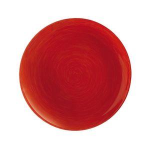 assiette luminarc rouge achat vente assiette luminarc rouge pas cher cdiscount. Black Bedroom Furniture Sets. Home Design Ideas