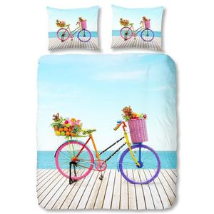 PARURE DE COUETTE GOOD MORNING Parure de couette Bicycle 100% coton