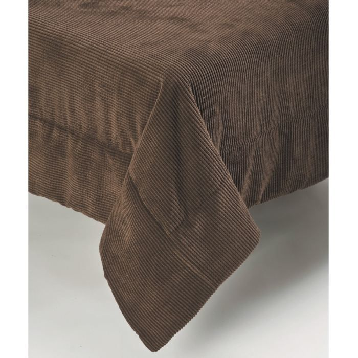 couvre lit c tel 220x250cm methis chocolat achat vente jet e de lit boutis cdiscount. Black Bedroom Furniture Sets. Home Design Ideas