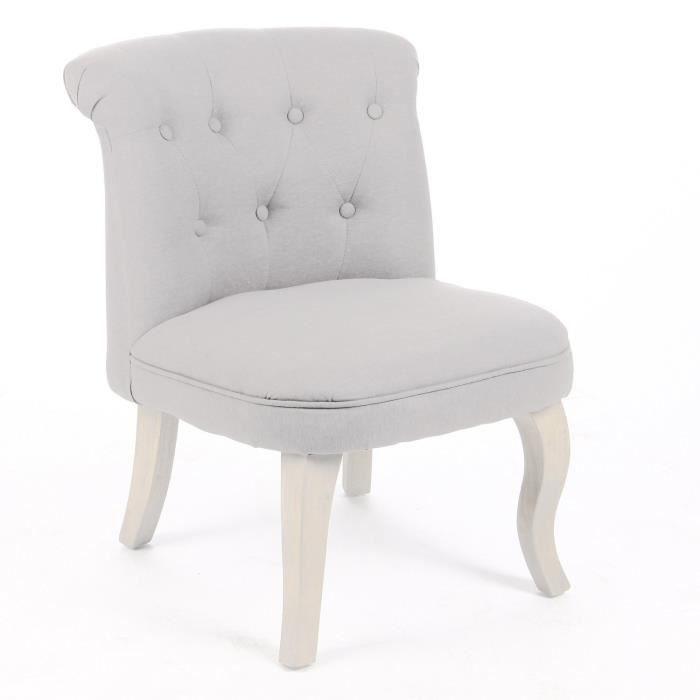 Fauteuil crapaud lin et coton coloris beige achat vente fauteuil beig - Fauteuil crapaud cdiscount ...