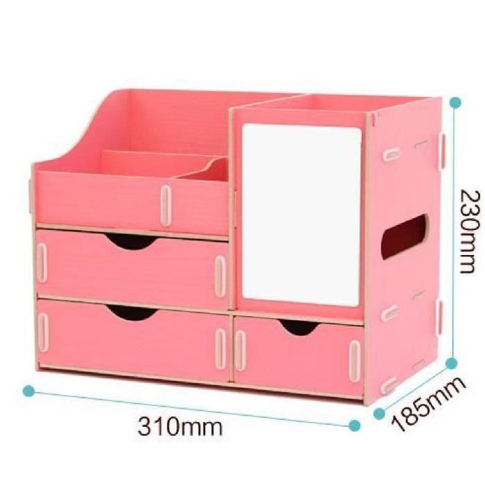 Surdimensionn tiroirs de cercueils en bois avec miroir for Assemblage de meuble en bois