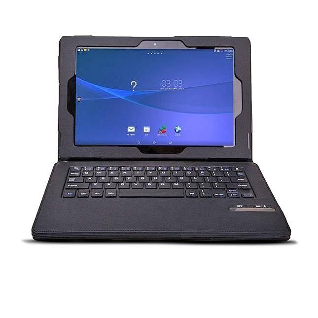 informatique accessoires tablettes tactiles etui clavier bt detachable pour tablette xperia z f  auc